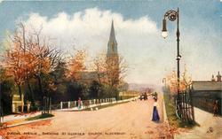 QUEEN'S AVENUE, SHEWING ST. GEORGE'S CHURCH