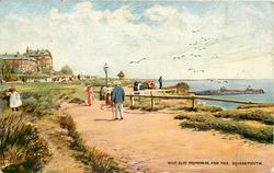 WEST CLIFF PROMENADE, AND PIER