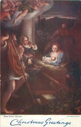 CHRISTMAS GREETINGS  THE HOLY NIGHT