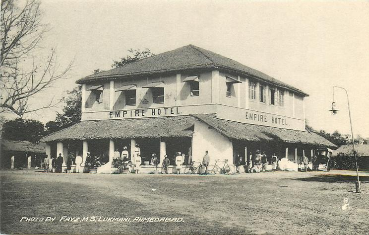 EMPIRE HOTEL on building, card not titled