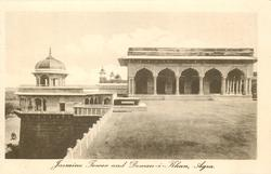 JASMINE TOWER AND DEWAN-I-KHAN