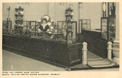BRASS AND COPPER WARE SECTION