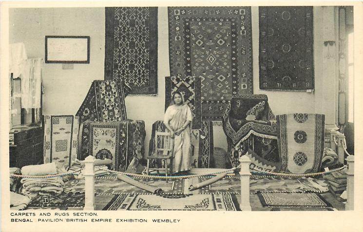CARPETS AND RUGS SECTION