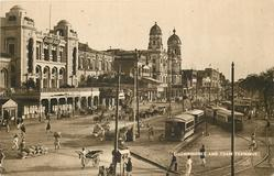 CHOWRINGHEE AND TRAM TERMINUS