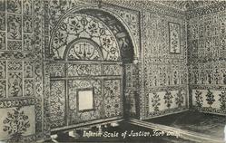 INTERIOR SCALE OF JUSTICE, FORT DELHI
