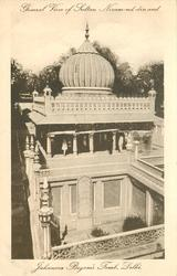 GENERAL VIEW OF SULTAN NIZAM-UD-DIN AND JAHANARA BEGAM'S TOMB