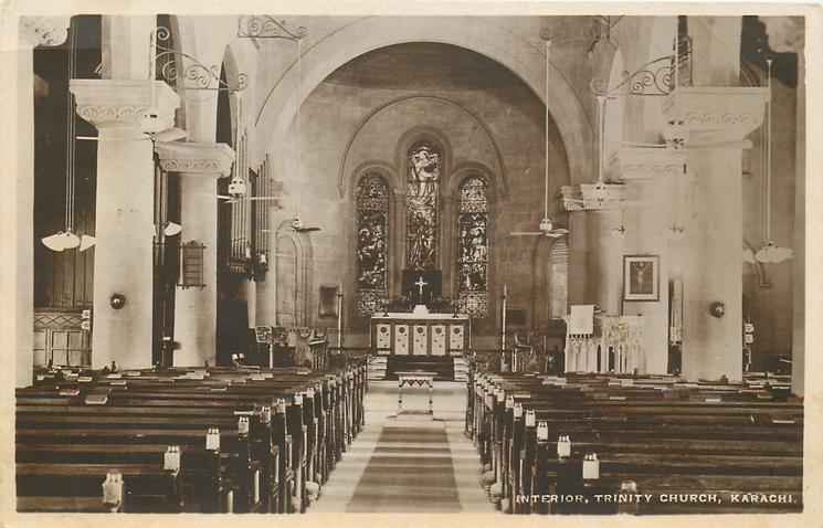 INTERIOR, TRINITY CHURCH