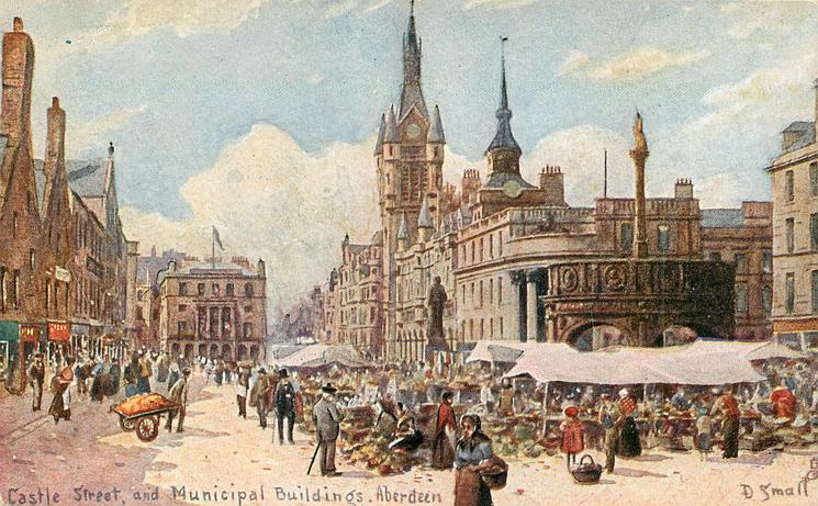 CASTLE STREET, AND MUNICIPAL BUILDINGS