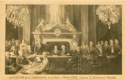 OUVERTURE DE LA CONFERENCE DE LA PAIX-MARS 1919