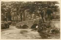 AN OLD PACK HORSE BRIDGE