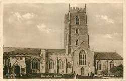 DUNSTER CHURCH  exterior