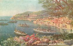 VUE GENERALE  naval ships left
