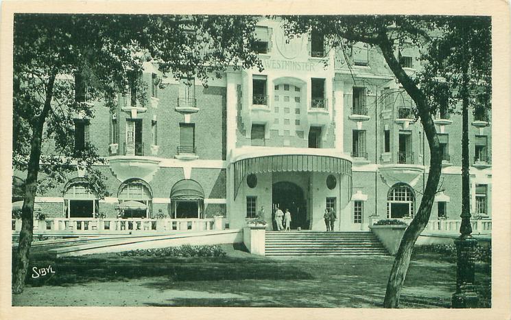 L' HOTEL WESTMINSTER PRIS DE LA PINIERE