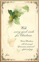 WITH EVERY GOOD WISH FOR CHRISTMAS