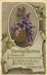 CHRISTMAS GREETINGS,
