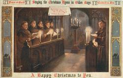 A HAPPY CHRISTMAS TO YOU  monks choir