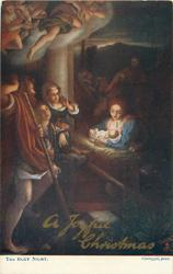 A JOYFUL CHRISTMAS  THE HOLY NIGHT