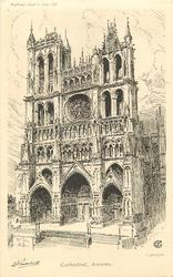 CATHEDRAL, AMIENS