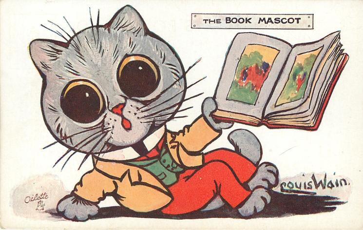 THE BOOK MASCOT