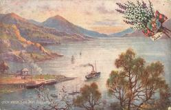 LOCH NESS, FROM FORT AUGUSTUS