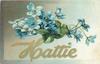 HATTIE  blue violets