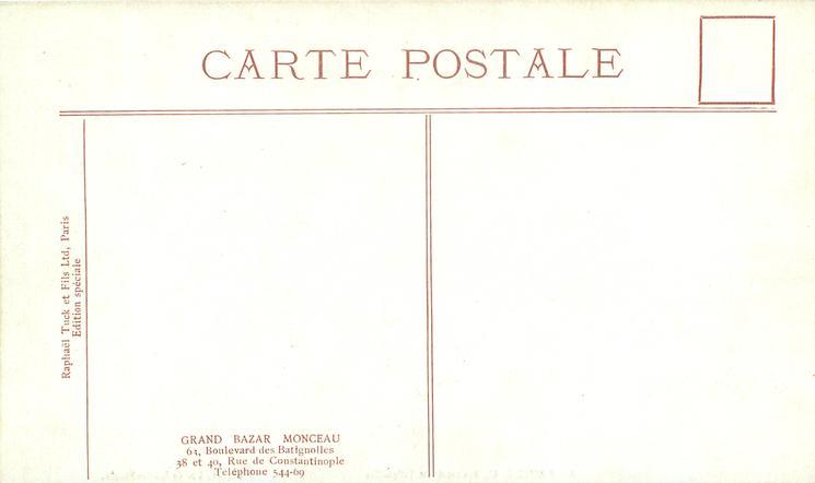 BAZAR MONCEAU, 63 BOULEVARD DES BATIGNOLLES, 38, 40, RUE DE CONSTANTINOPLE