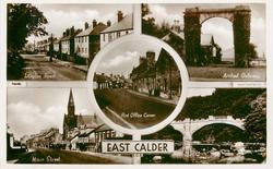 5 insets LANGTON ROAD/ARCHED GATEWAY/POST OFFICE CORNER/MAIN STREET/BRIDGE & RIVER