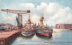 DEVONSHIRE DOCK (SHOWING 150 TON CRANE)