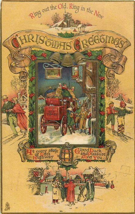 CHRISTMAS GREETINGS  verse, coaching