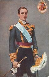 HIS MAJESTY THE KING OF SPAIN, ALFONSO XIII.