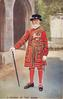 YEOMAN OF THE GUARD  full view with cane