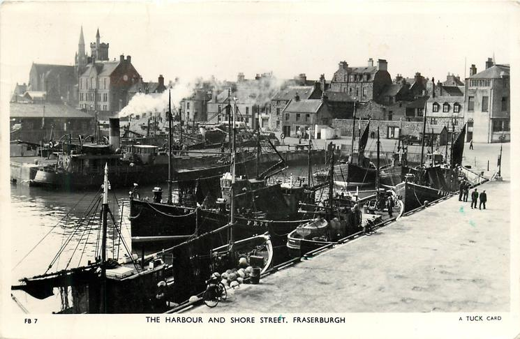 THE HARBOUR AND SHORE STREET