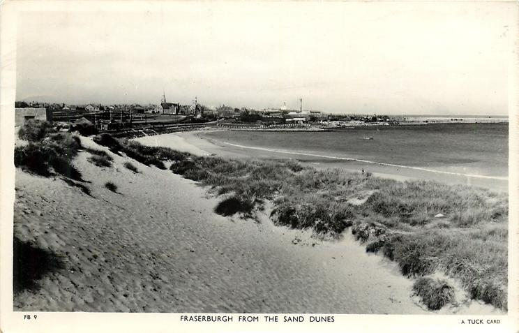 FRASERBURGH FROM THE SAND DUNES