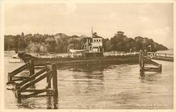 FERRY LEAVING FISHBOURNE