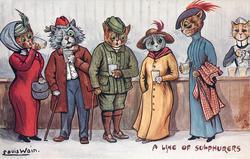 A LINE OF SULPHURERS