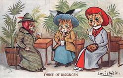 THREE OF KISSINGEN