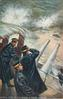 ADMIRAL TOGO ON THE BRIDGE IN ROUGH WEATHER