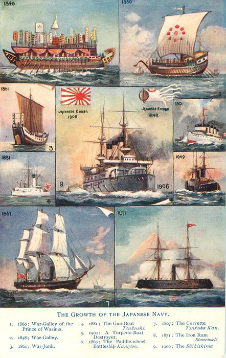 THE GROWTH OF THE JAPANESE NAVY