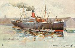 S.S. BAVARIAN (ALLAN LINE)