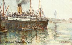 S.S. CRETIC (WHITE STAR LINE)