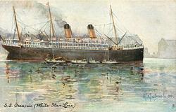 S.S. OCEANIC (WHITE STAR LINE)