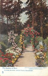 FLOWER BORDER, GROVE PLACE, GOUDHURST