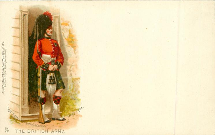 ROYAL HIGHLANDERS (BLACK WATCH)