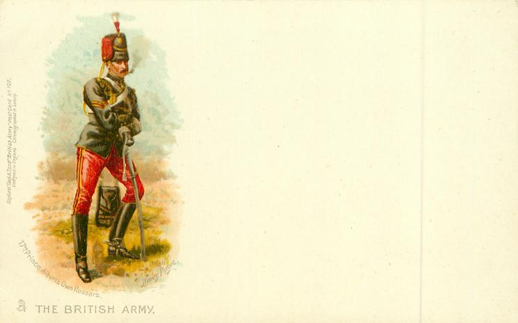17TH PRINCE ALBERT'S OWN HUSSARS