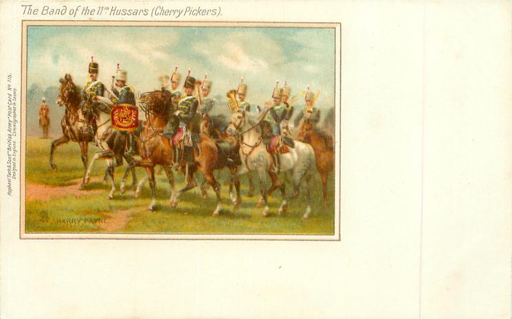 THE BAND OF THE 11TH HUSSARS (CHERRY PICKERS)