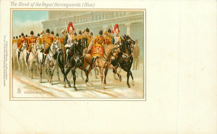 THE BAND OF THE ROYAL HOUSEGUARDS (BLUE)