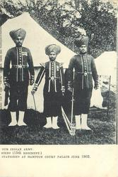 SIKHS (15TH REGIMENT)