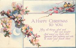 A HAPPY CHRISTMAS TO YOU  blossom