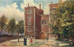 ENTRANCE TO LAMBETH PALACE