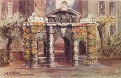 OLD WATER GATE, FROM THE VICTORIA EMBANKMENT GARDENS